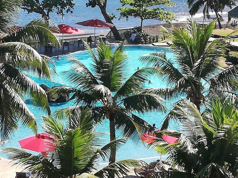 Logement de charme cadre luxuriant vue sur l'Océan, Tahiti, holiday rental in Tahiti