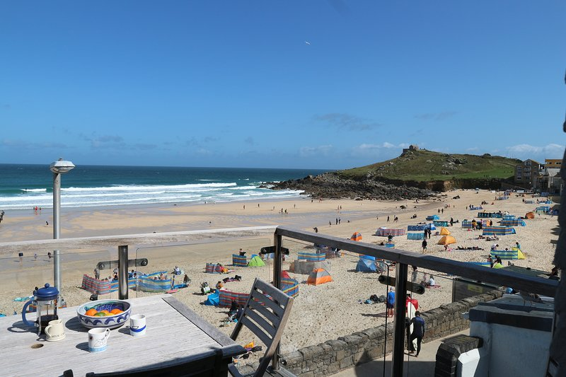 Brantwood, Porthmeor beach, St Ives, Cornwall, holiday rental in St Ives