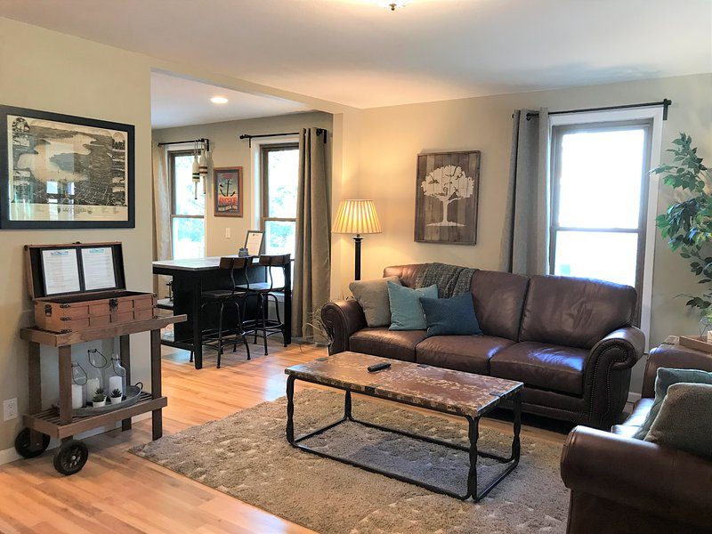 Professionally decorated with quality furnishings and details only 5 blocks from Downtown.