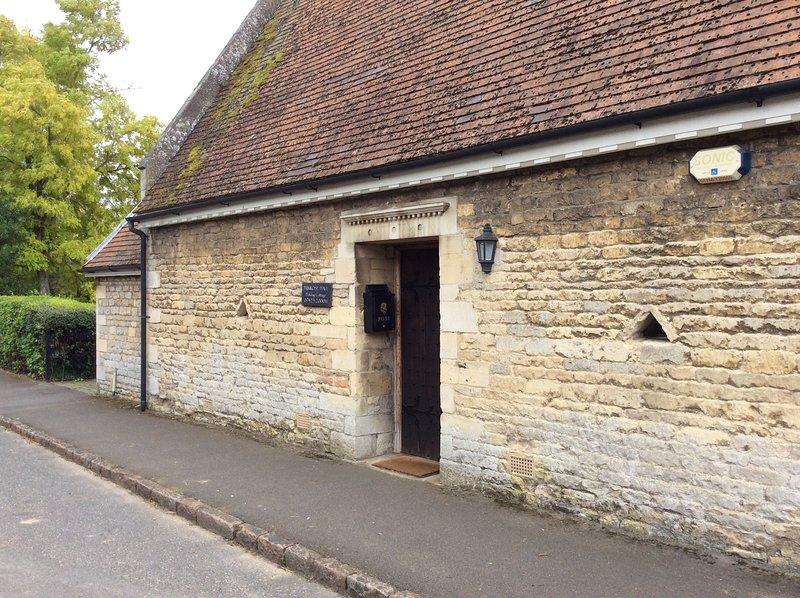 Exterior de 200 años de antigüedad casa clasificada Grado II