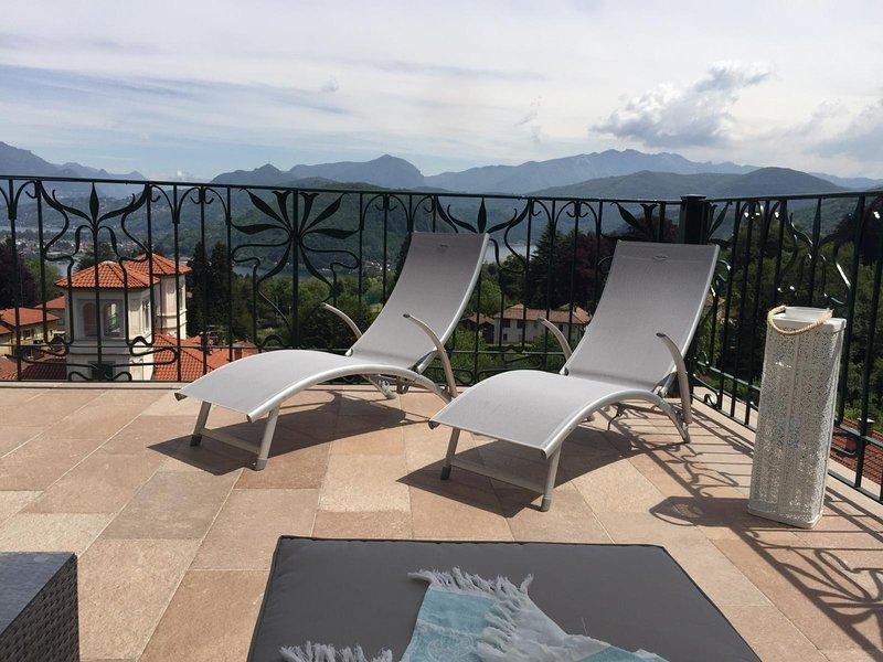 Villa Floreal - Torre degli Innamorati, holiday rental in Molinazzo di Monteggio