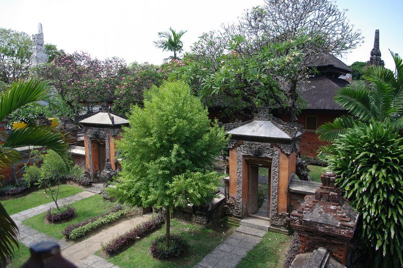 Bali Museum 1.5km from our house