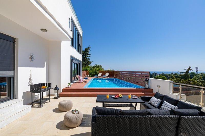 Melia Villa, holiday rental in Koskinou