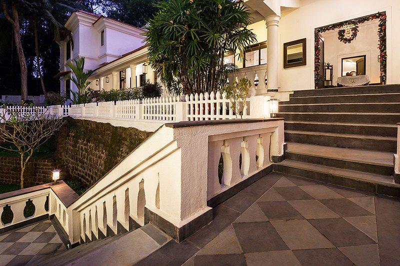 Treppe zur Freizeit