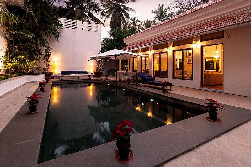 Villa mit einem Pool