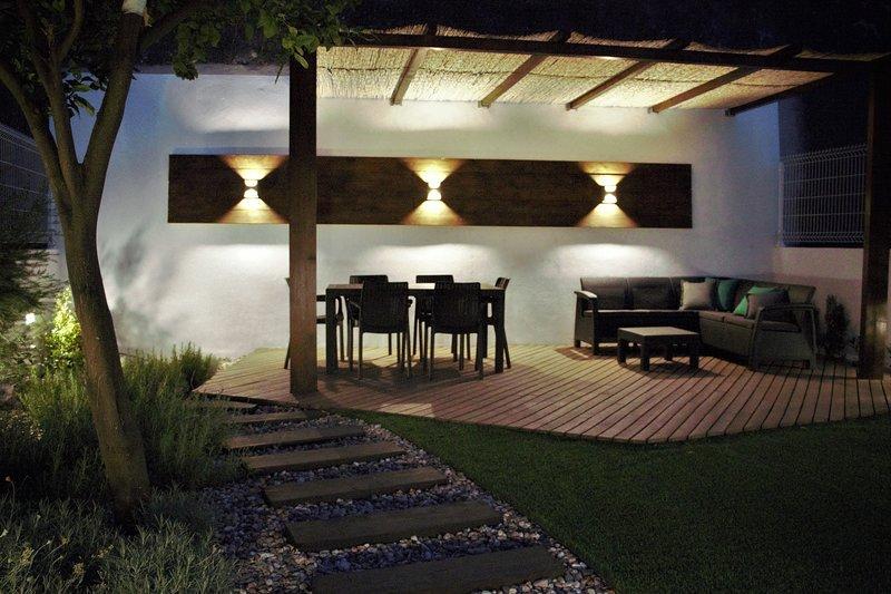 Deck Nachtbeleuchtung