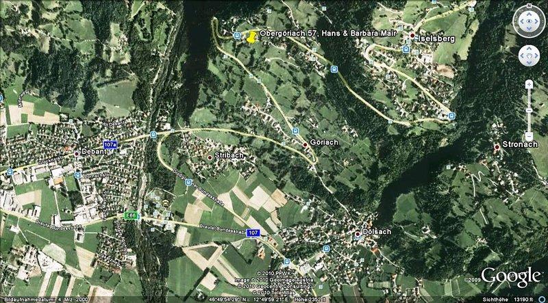 Google Earth Lageplan