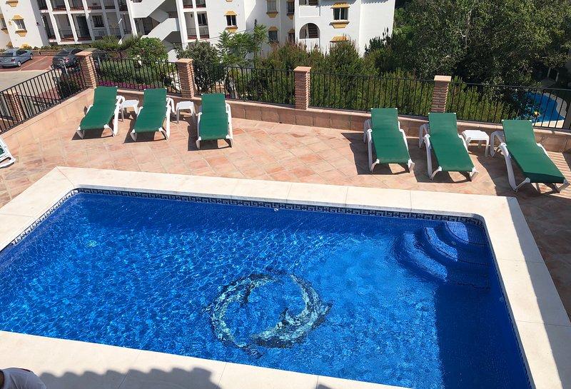 zona de la piscina