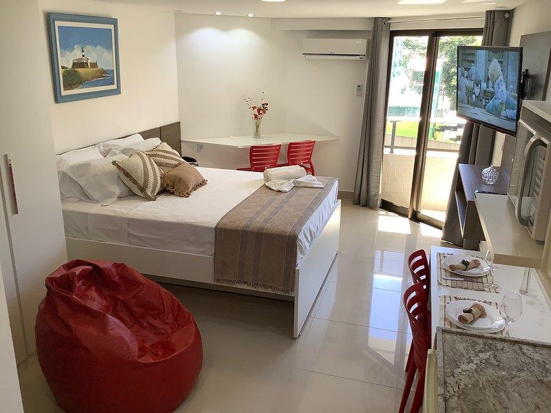GoldFlat Cabo Branco - Conforto para sua Família, aluguéis de temporada em Paraíba