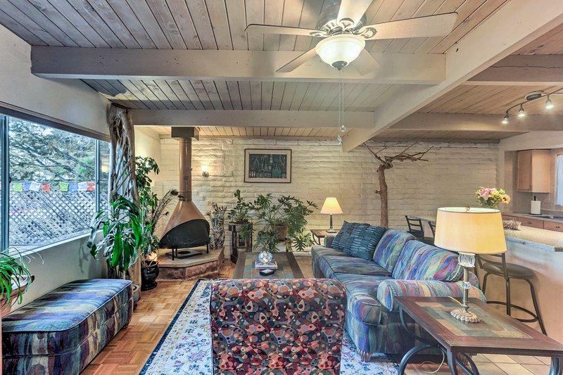 Réservez votre escapade à Sedona dans cette maison de ville pittoresque et charmante à 1 lit et 1 salle de bain!
