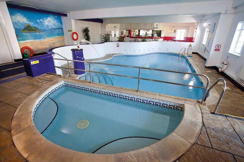 Heated Indoor Swimming Pool Free to use by our guest