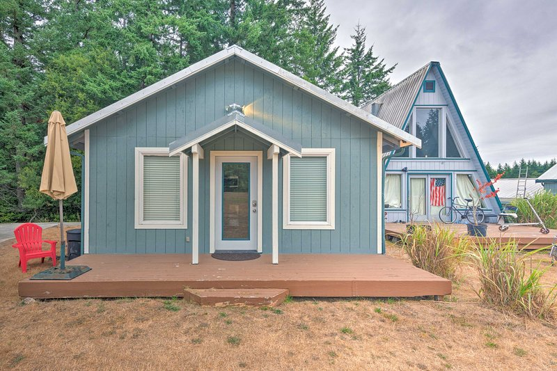 Whidbey Island Cottage - 3 Mi to Whale Watch!, casa vacanza a Langley