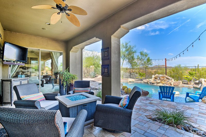 Luxury Phoenix Resort Home w/ Pool, Patio & Casita, holiday rental in Anthem