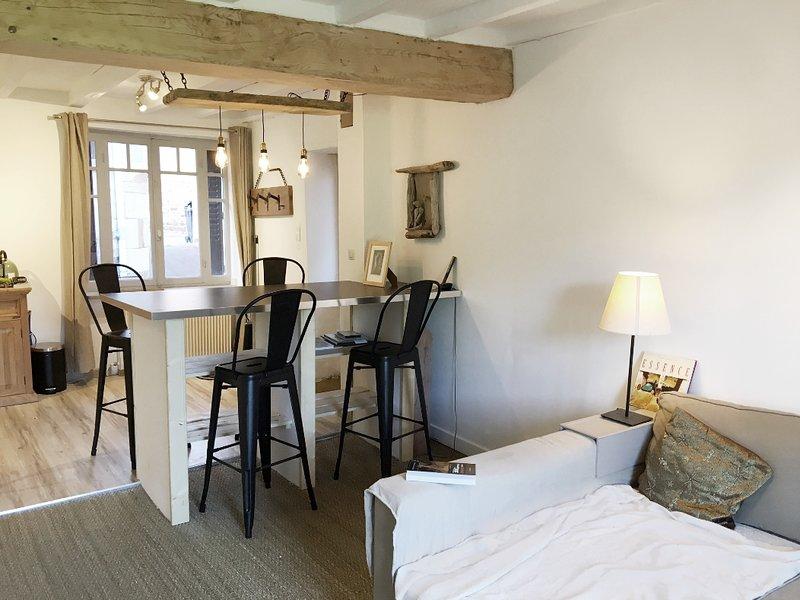Living room - dining room - kitchen
