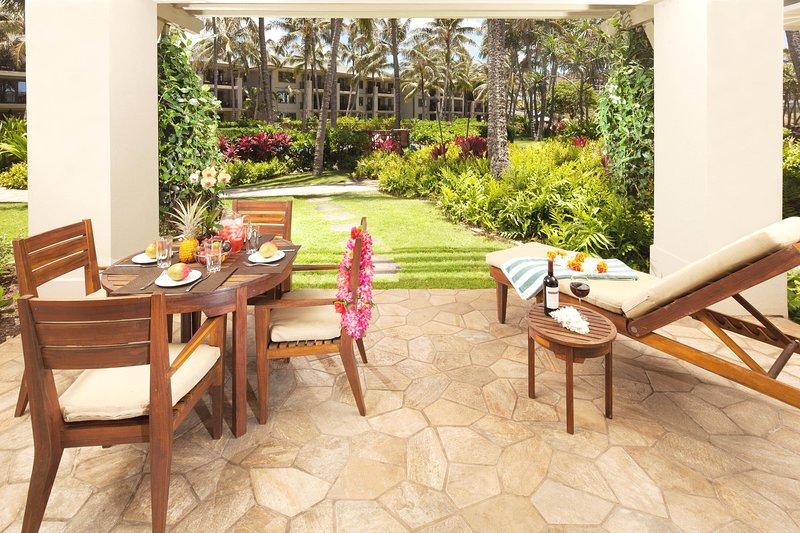 Villa 115 Beach Level 3-Bed Ocean & Garden Views!, vacation rental in Kahuku