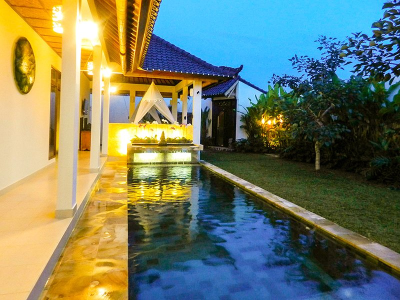 Villa Romantica -set in romantic rice fields -Ubud, vakantiewoning in Ubud