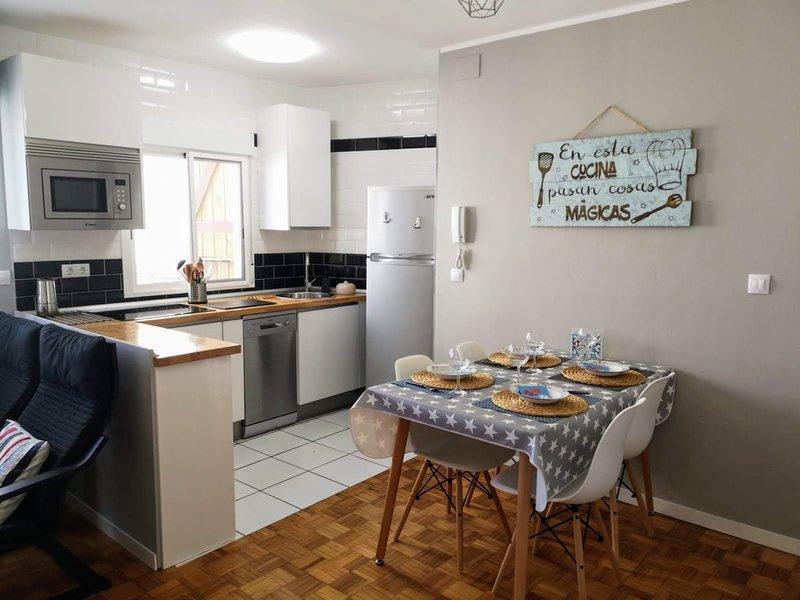 Atico en el centro de Luanco, holiday rental in Luanco