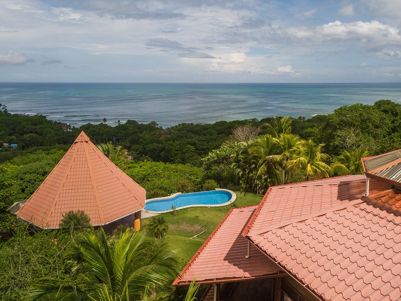 RANCH AND SWIMMING POOL WITH PART OF VILLA WITH SPECTACULAR VIEW