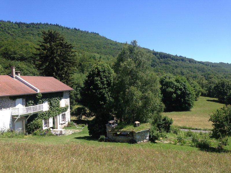 gîte parc régional Vercors – semesterbostad i Saint-Thomas-en-Royans