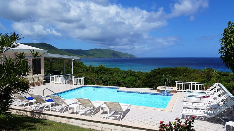 Villa Dawn at Cane Bay Beach,  St. Croix, USVI, holiday rental in St. Croix