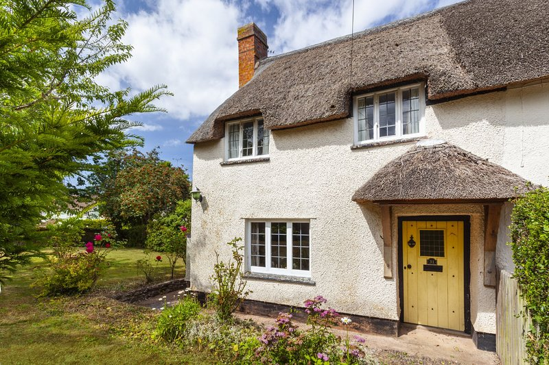 Blueberry Cottage, Old Cleeve - Thatched and cosy cottage with two bedrooms for, holiday rental in Monksilver