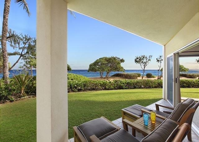 A107 King Waipouli BEACHFRONT  Ex large / DISCOUNTED 2020 rates EASY Cancel, location de vacances à Kauai