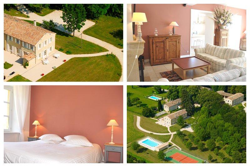 LE FOUR A PAIN, Domaine de Vincenti, location de vacances à Loriol-sur-Drome