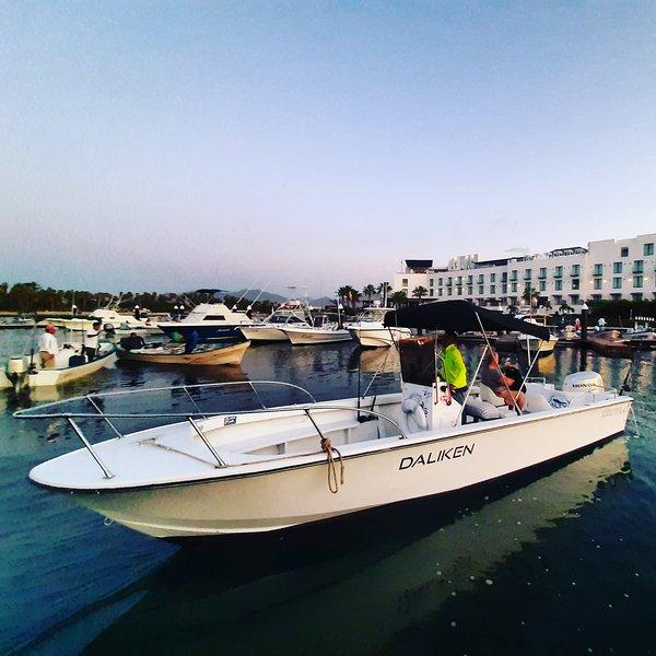 The daliken sportfishing boat