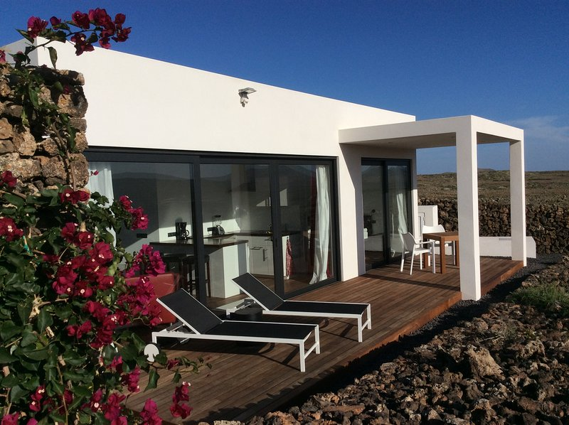 Casa Stoked, Lajares, beste Lage, Ruhe & Privacy, location de vacances à Lajares