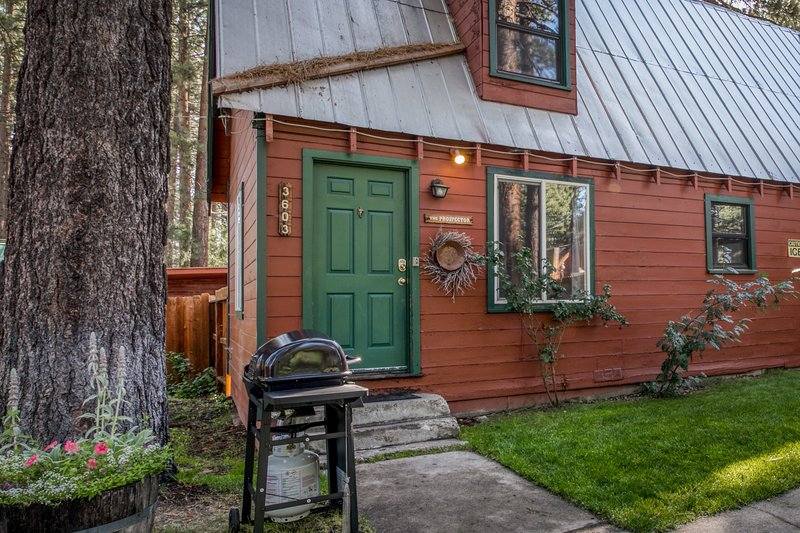 Dog-friendly cabin w/ shared hot tub, gas fireplace, and trail access, vacation rental in Markleeville