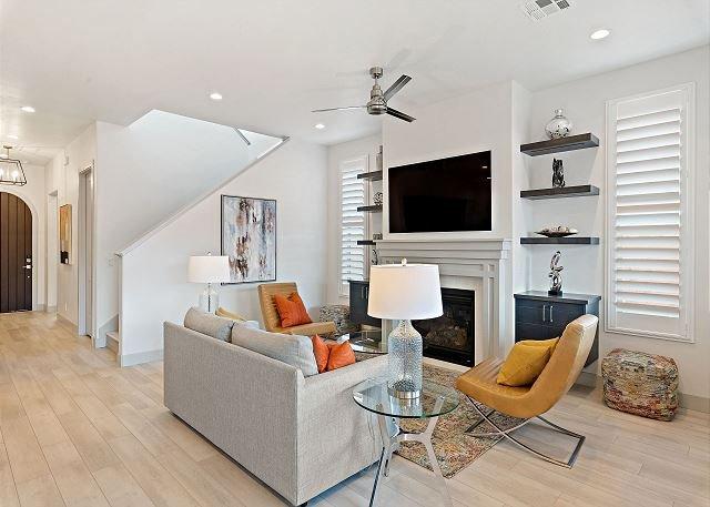 Living Room / TV / Fireplace