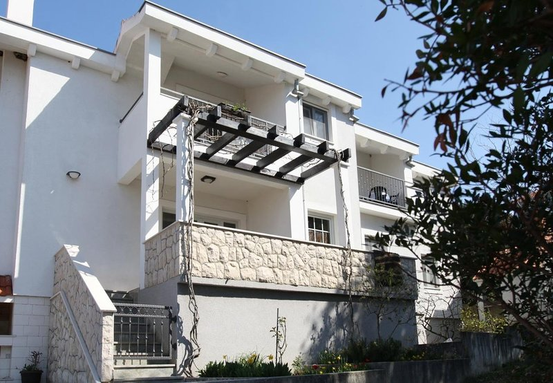 Mari - 100 m from beach: A1(4+1) - Petrcane, vacation rental in Petrcane