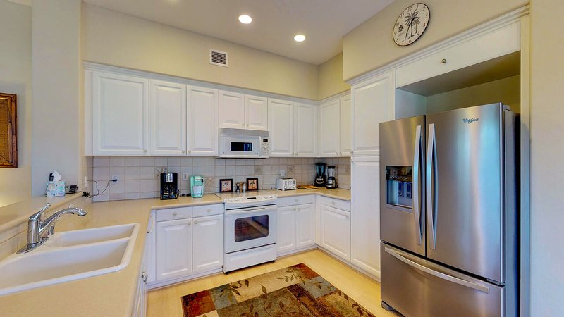 Enjoy Plenty of Cabinet and Counter Space in Our Condo in Ko Olina Resort.