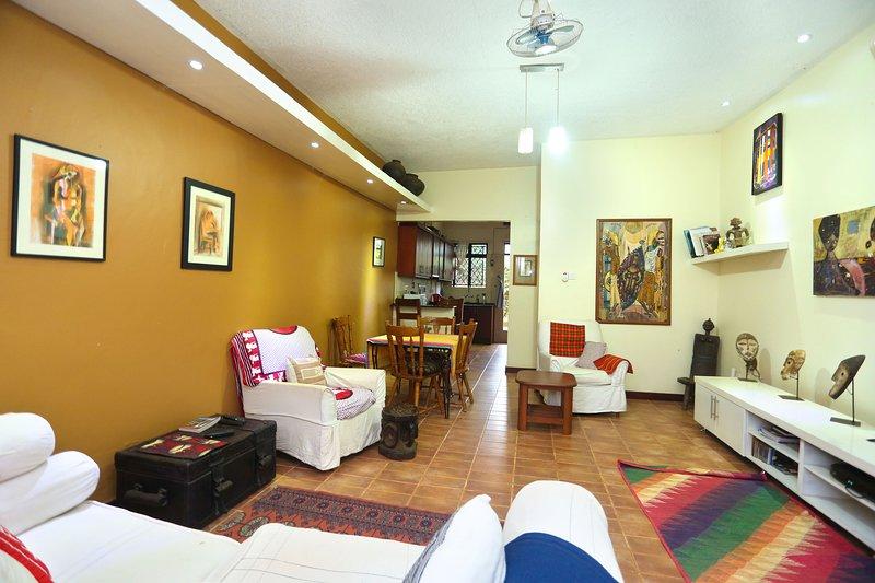 Soho Greens apartment 4, location de vacances à Kasangati