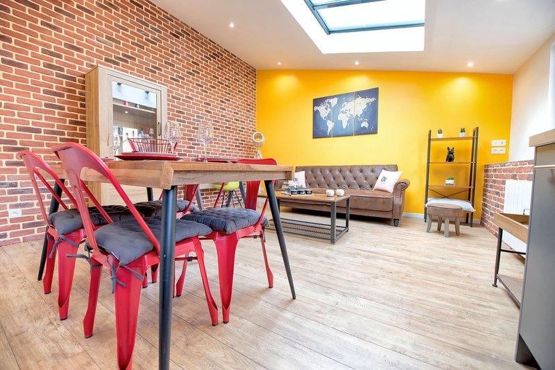 Appart Duplex design et ensoleillé, casa vacanza a Montivilliers