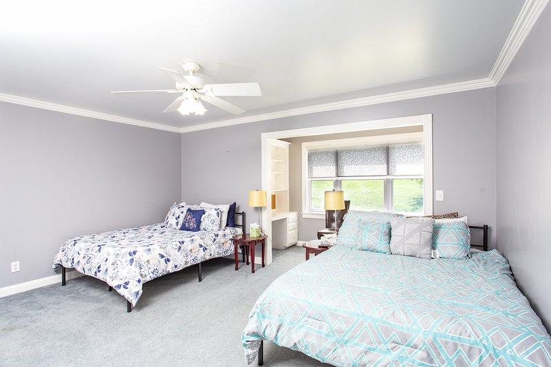 'Indoors','Room','Bedroom','Ceiling Fan','Furniture'