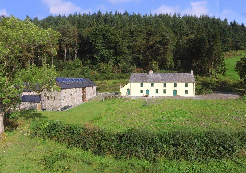 Group Accommodation Llanwrtyd, holiday rental in Llanwrtyd Wells