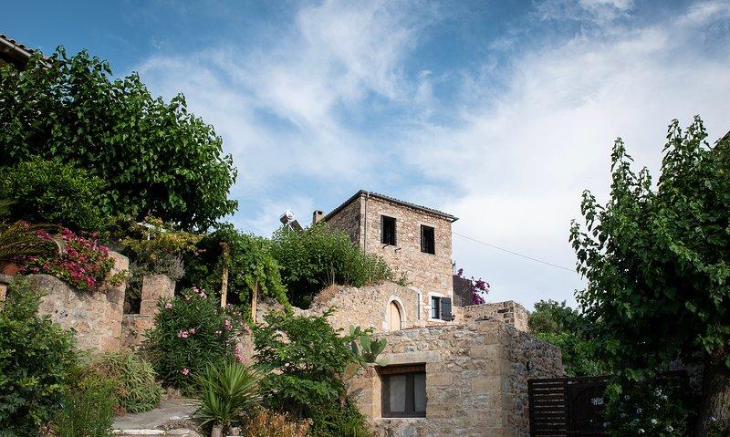PositiveSpace Olive Tree - a unique tower-house experience, aluguéis de temporada em Lefktro