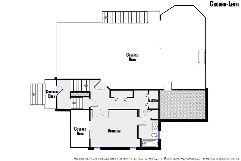 Ground-Level Floor Plan
