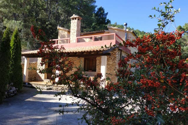 Big house with mountain view & Wifi, holiday rental in Povedilla