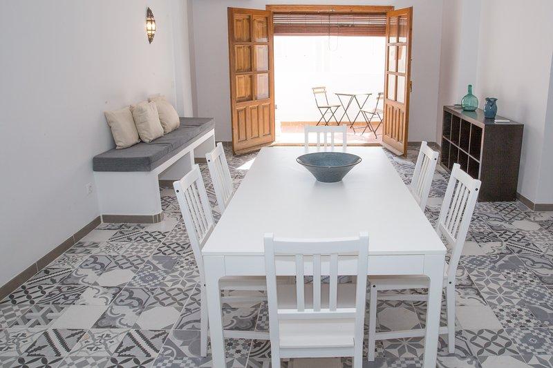 lovely 3 bedroom apartment near the Pueblo, location de vacances à Mojacar Playa