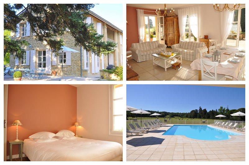 LES AGNELLES, Domaine Vincenti, location de vacances à Loriol-sur-Drome