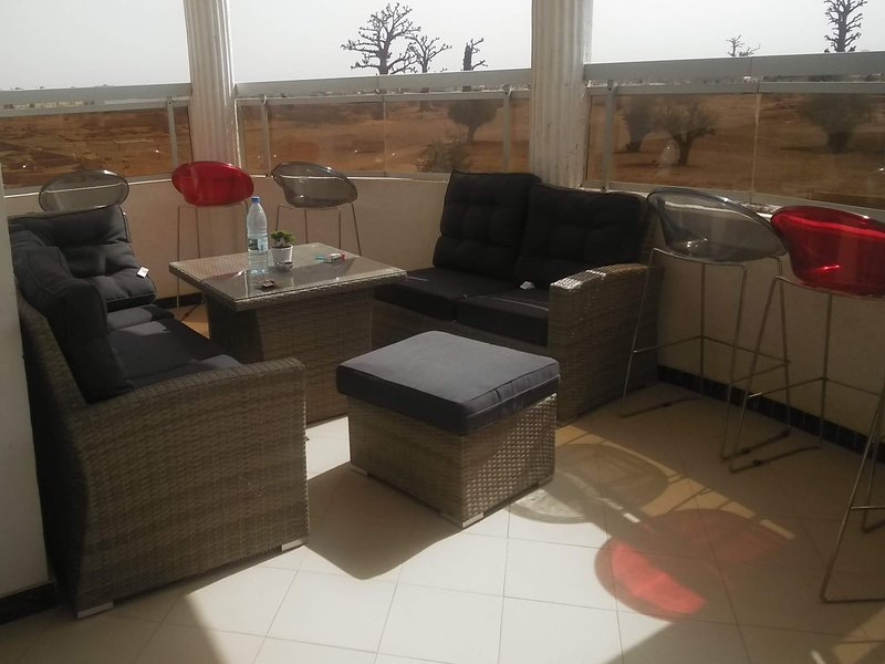 Maison a louer au Senegal, holiday rental in Ouoran