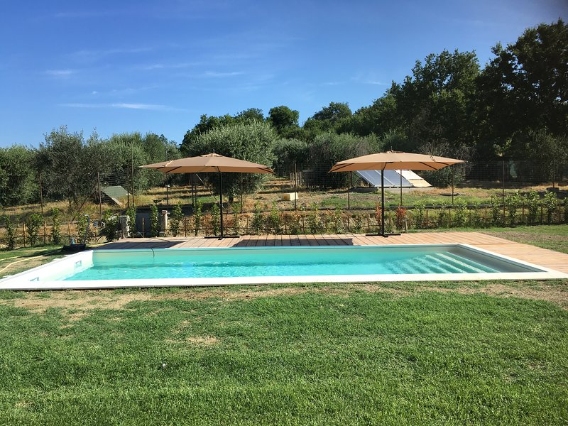Amazing villa with swimming-pool, holiday rental in San Liberato