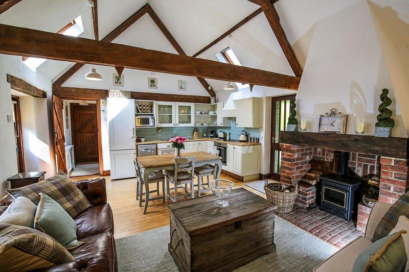 Littledown Barn, holiday rental in Slindon