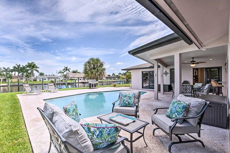 Immergiti nella tua prossima vacanza in Floridian in questa casa vacanza con 4 letti e 2 bagni!