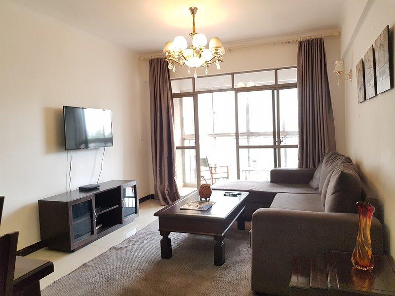 Kilimani Apartment 3 bedrooms, holiday rental in Nairobi