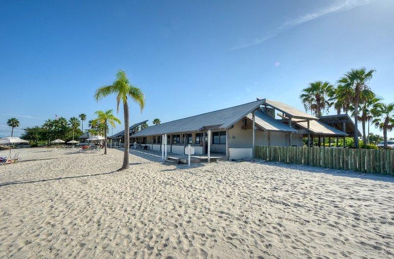 You'll love the private beach!