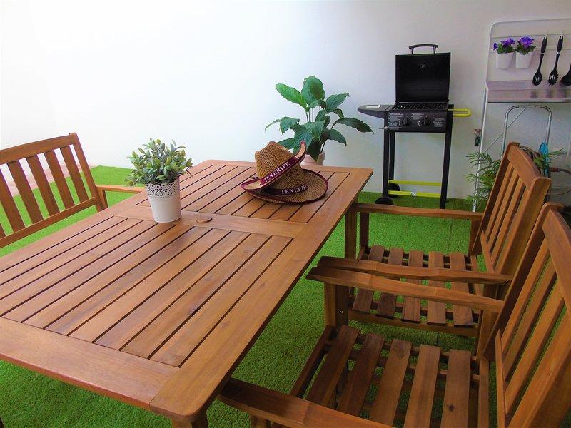 Las Pardelas Apartment, holiday rental in Taganana