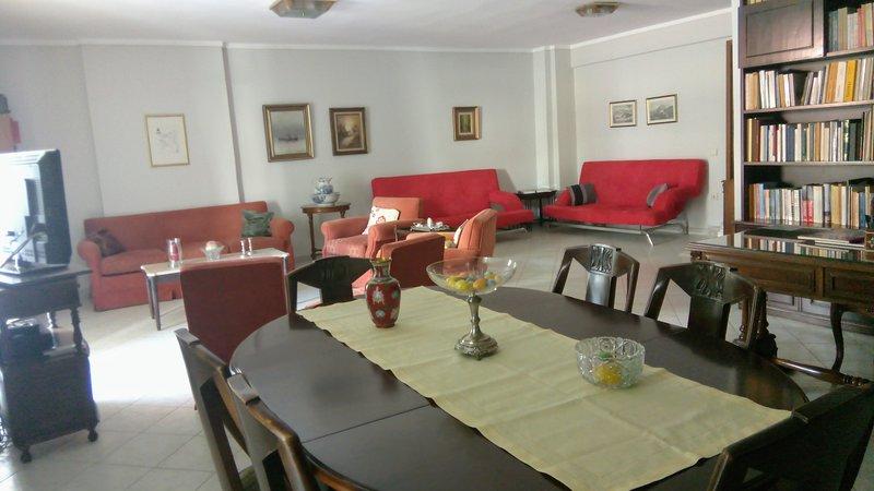 comfortable flat, quiet and near city center, alquiler vacacional en Pylaia